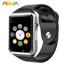 Mens Relojes de Primeras Marcas de Lujo Los Hombres Relojes de Pulsera Inteligente Podómetro Electrónico Electrónica Pantalla LED Deportes Relojes Inteligentes Android