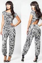 free pp instyles Womens Sexy Celeb Voguish Bodycon All In One Playsuit Jumpsuit Onesie Size 8-10bestdress