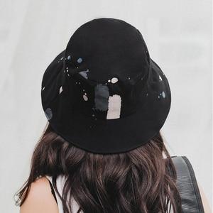 Image 4 - 2018 אביב קיץ למבוגרים דלי כובע ססגוני גרפיטי בוב כובעי היפ הופ Gorros גברים נשים קיץ כובעי חוף שמש דיג כובע