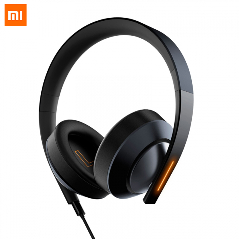 Xiaomi 7.1 Virtual Surround Sound Stereo 3.5MM USB Gaming Headphone wit Mic LED Light 40MM Speaker ENC Noise Cancelling Earphone