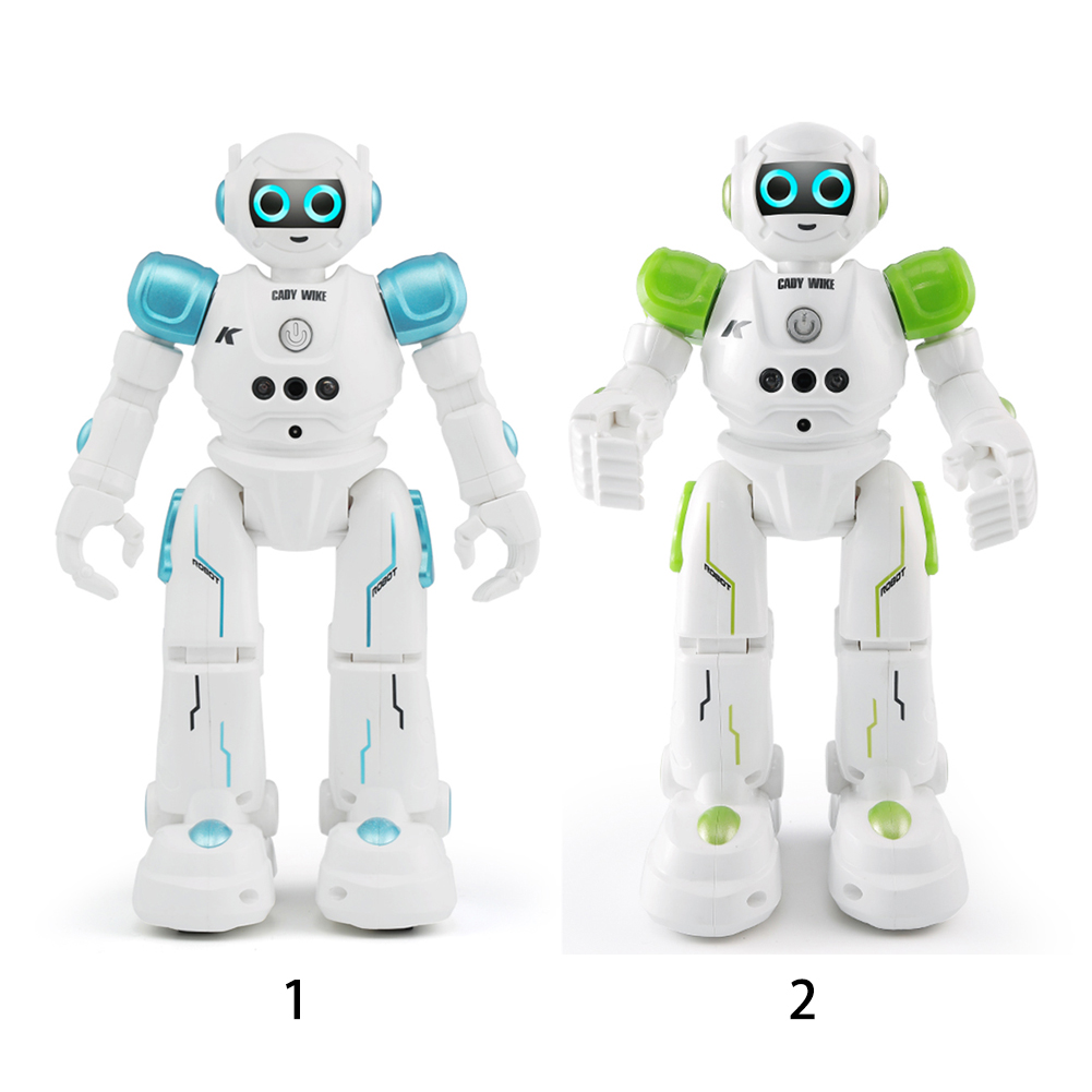 R11 Robot Singing Toy Walking Kids Gift Intelligent Gesture Control RC Led Dancing Remote Control