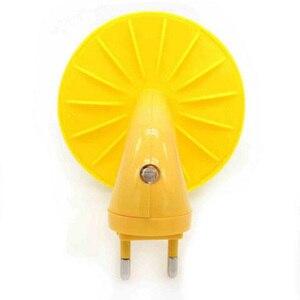 Image 3 - AC110 220V duvar priz lambası ab tak çocuk çocuk gece lambası bebek LED Mini mantar işığı kontrol sensörü hediye kreş