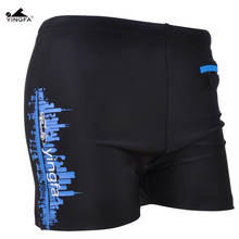 Yingfa plus size Swimwear Men's Swimwear ,water repellent,men's swimming swim trunks Sport shorts classic men swimwear