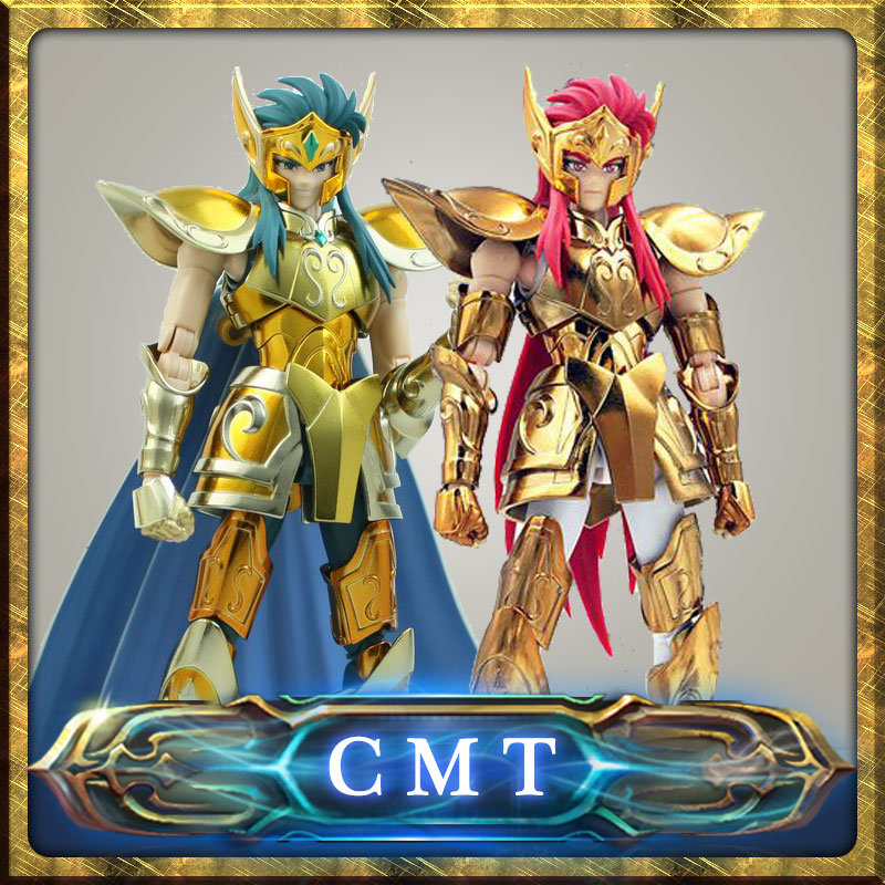 Insotck Metal Club Model Aquarius Camus Saint Seiya metal armor Myth Cloth Gold Ex 2.0 Action Figure high quality gold soul saint seiya ex gold saint aquarius bottle camus model toys