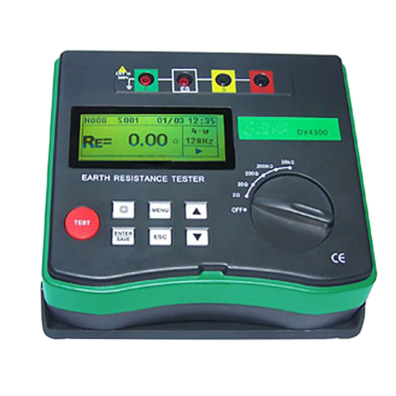 Digital Earth Tester DY4300 Ground Resistance Tester Meter