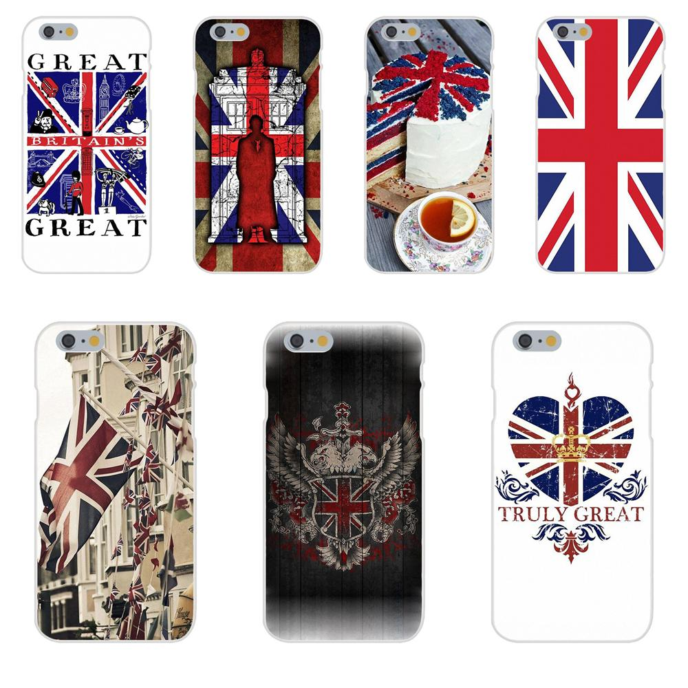 For Xiaomi Mi3 Mi4 Mi4C Mi4i Mi5 Mi 5S 5X 6 6X A1 Max Mix 2 Note 3 4 Soft TPU Luxury Great Britain Gb British Flag England image