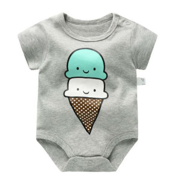 BABY BODYSUITS 100%Cotton Infant Body Short Sleeve Clothing Similar Jumpsuit Printed Baby Boy Girl Bodysuits Kids bodysuits