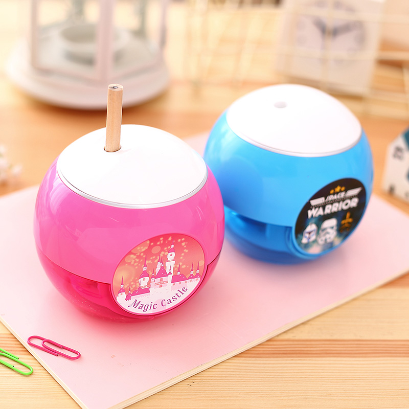 Deli Stationery Electric Pencil sharpeners for school supplies Electric pencil sharpener for kids Gift Creative Pencil sharpener