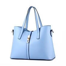 2016 New large capacity women bag simple shoulder messenger bags female handbags KLY8886bag