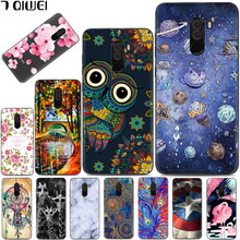 hot deal buy silicone fundas cover for xiaomi pocophone f1 case soft tpu back cover for xiaomi poco f1 case hoesje for xiaomi pocophone f1