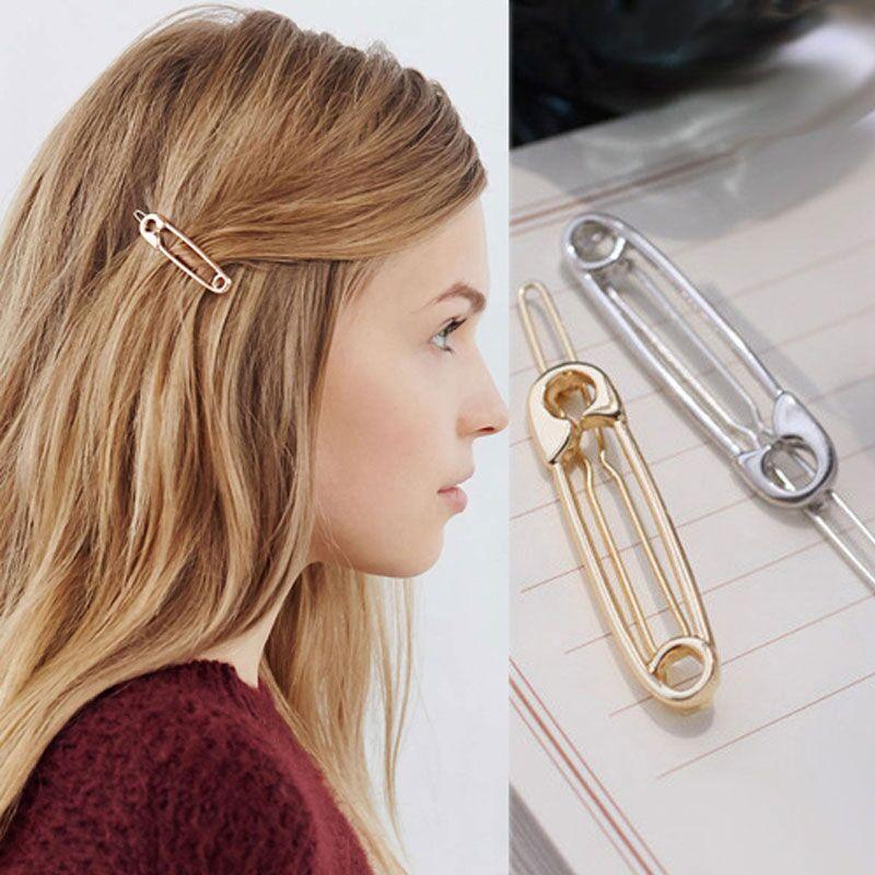 M MISM Fashion Metal Brooch Design Hairpins For Women Wedding Hair Jewelry Hair Accessories Pinzas De Pelo Hair Clips For Girls