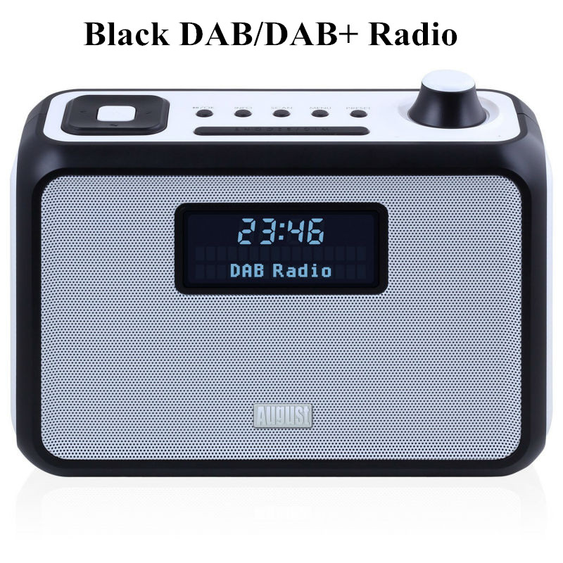 Black DAB Radio