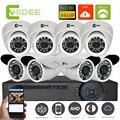 CNHIDEE AHD 8CH 1080N DVR Home CCTV kit Security Camera System 960P 8PCS 1500TVL 1.3 mp Surveillance Kit  sistemas de seguridad