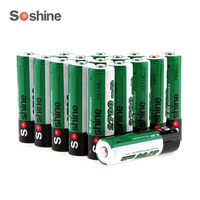 Soshine 16ชิ้น/4แพ็ค1.2โวลต์AA 2700มิลลิแอมป์ชั่วโมงNi-Mhแบตเตอรี่แบบชาร์จไฟกับ1000รอบ+ 4ชิ้นแบตเตอรี่แบบพกพ...