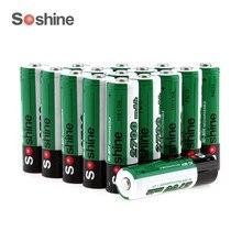 Soshine 16 шт./4 pack 1.2 В AA 2700 мАч Ni-Mh Аккумуляторная Батарея с 1000 Цикла + 4 шт. портативный Батарейный блок
