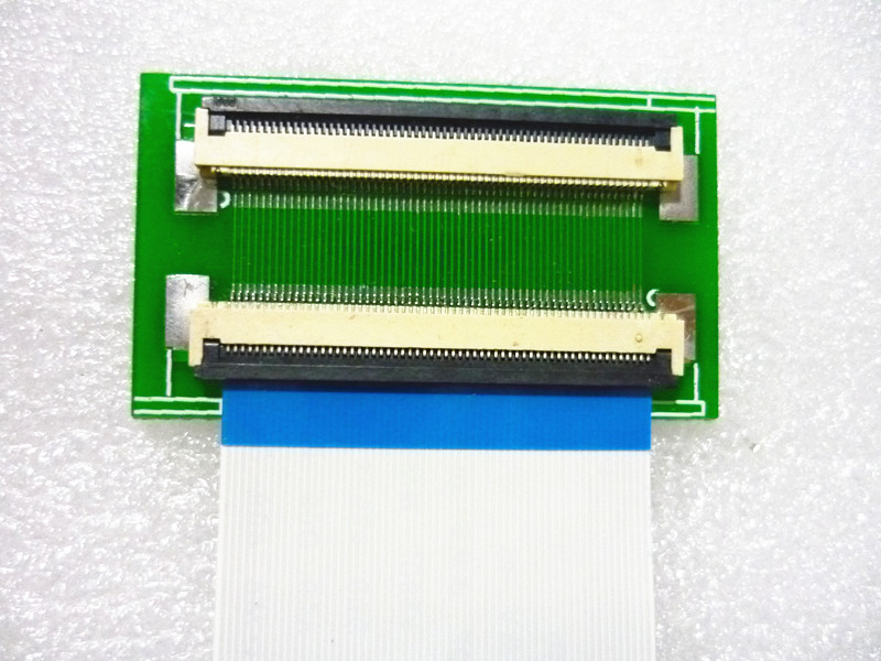 <font><b>60Pin</b></font> to <font><b>60Pin</b></font> 0.5mm <font><b>connector</b></font> adapter with extension flat cable FFC extend Extension cord image