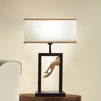 Modern classical Chinese table lamp art living room study bedroom bedside decoration antique art antique desk lamps LU823932