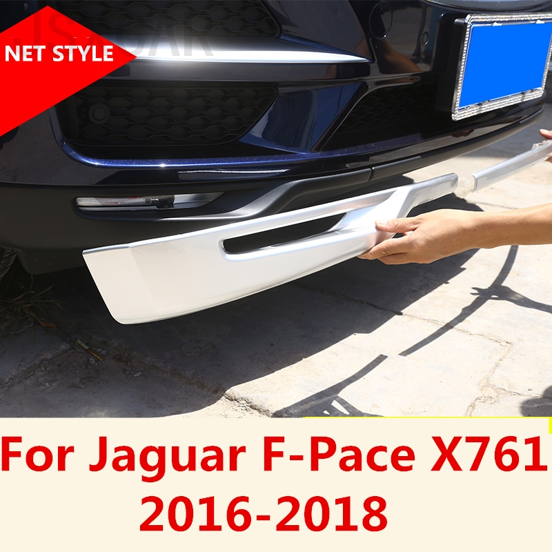 Carbon fiber Style FOR Nissan Sentra 2016-2018  Front Bumper Molding Cover Trim