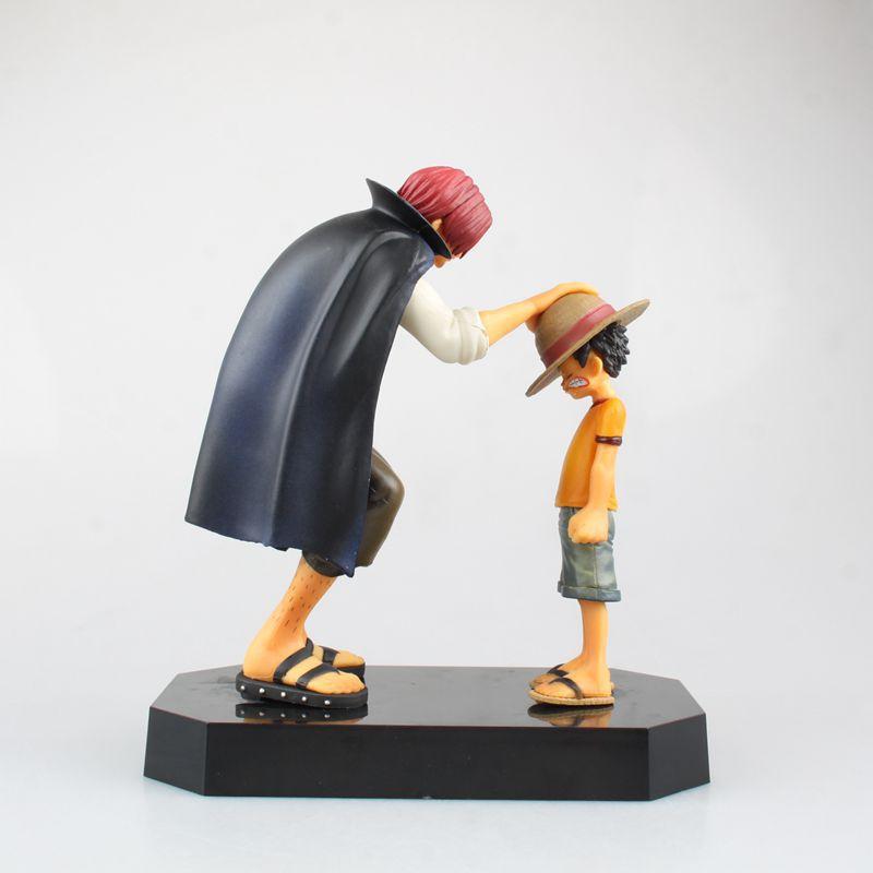 Una pieza figuras de acción anime sombrero de paja luffy Shanks Red ...