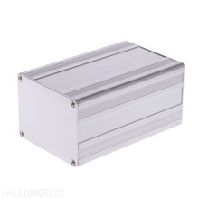 100x65x50mm DIY Aluminum Enclosure Case Electronic Project PCB Instrument Box 2pcs aluminum alloy pcb instrument shell electric plate wall mounting enclosure project box diy 122x44x160mm new