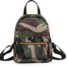 Girls' Camo Backpack Samll School Backpack Female Casual Rucasack School Bags For Teenage Girls Mini Sac A Dos Mochila Feminina цена в Москве и Питере
