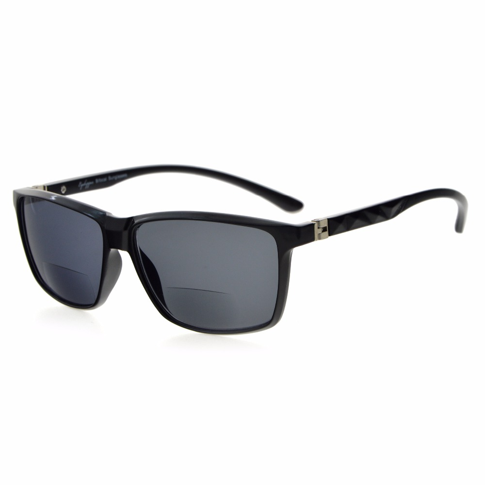 S032 Bifocal Eyekepper Bifocal Sunglasses With 180 Degree Spring Hinges Men Women +100/+125/+150/+175/+200/+225/+250/+300