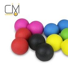 COREMATE Fitball 라크로스 공 크로스 피트 피트니스 공 마사지 운동 근육 릴렉스 필라테스 홈 체육관 운동 공 치료