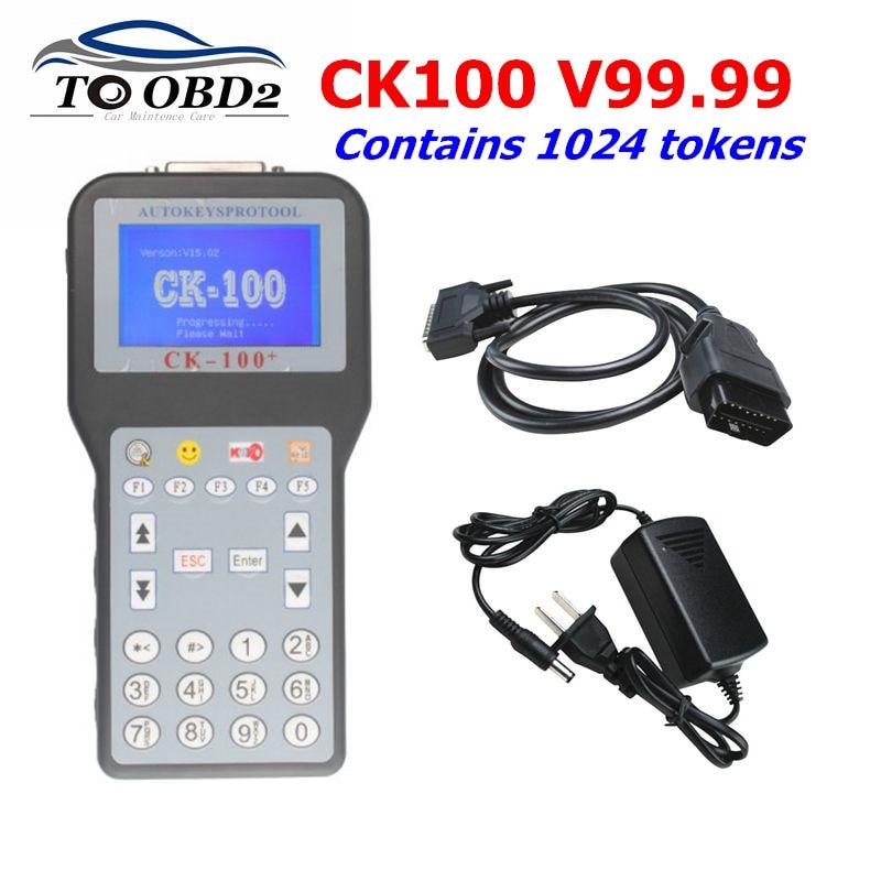 CK100 Auto Key Programmer CK-100 V99.99 And Mini Zed Bull OBD2 Diagnostic Tool Car Fault Reader Auto Code Scanner Tool Free Ship