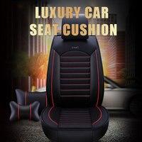 Universal Pu Leather Car Seat Covers for Alfa Romeo 147 156 159 166 Giulia Giulietta Mito Stelvio Car Seats Protector