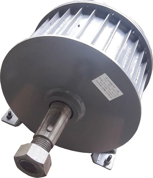 5KW Low RPM AC220V 380V Three Phase Permanent Magnet Generator 5kw gasoline generator accessories 6 5kw ec6500 copper rotor three phase motor 380v