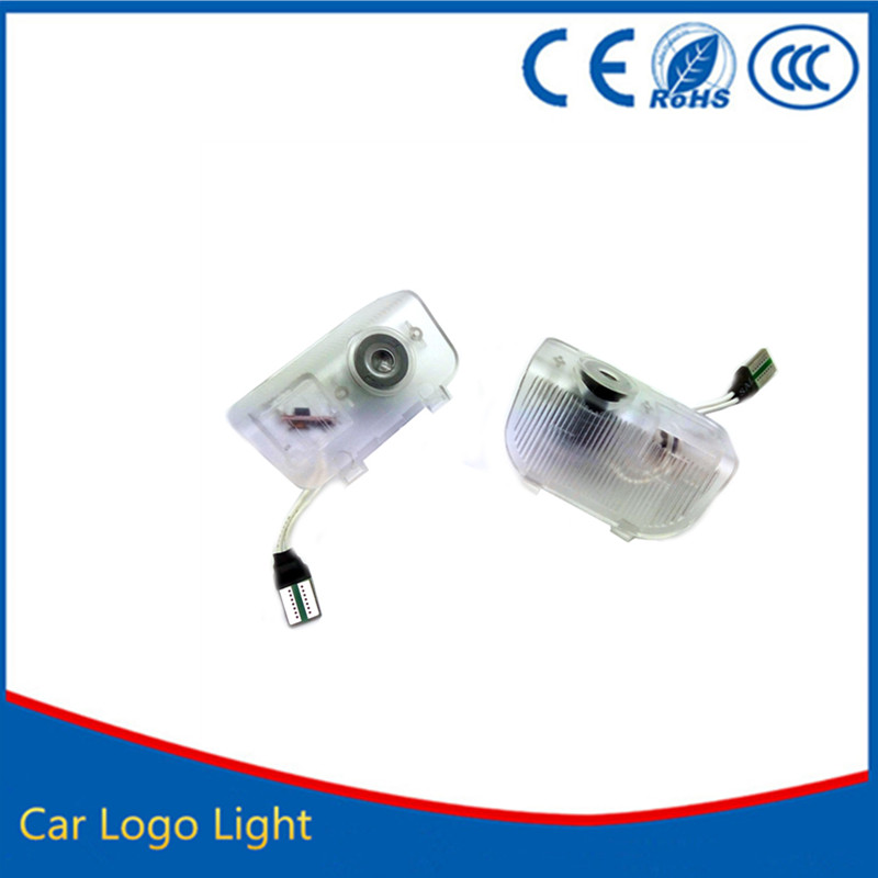 2X LED Car Door Courtesy Laser Projector Logo Ghost Shadow Light Welcome Guest Light FOR Honda Accord CR-Z Odyssey SPIRIOR RDX 2 x newest led car door light ghost shadow light welcome laser projector logo for fiat panda doblo ducato bravo stilo 500 punto