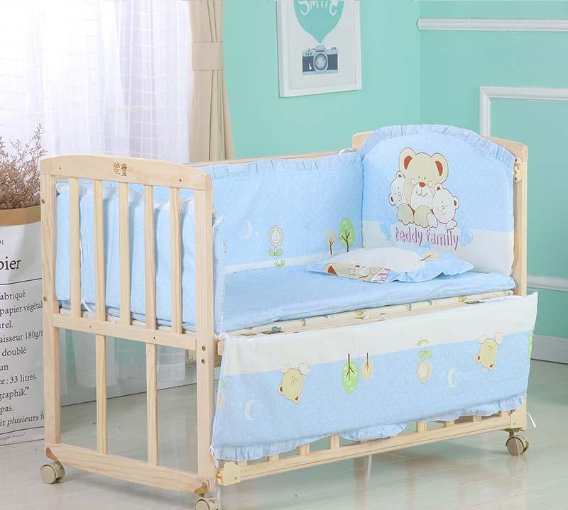 crib bed bumper 4