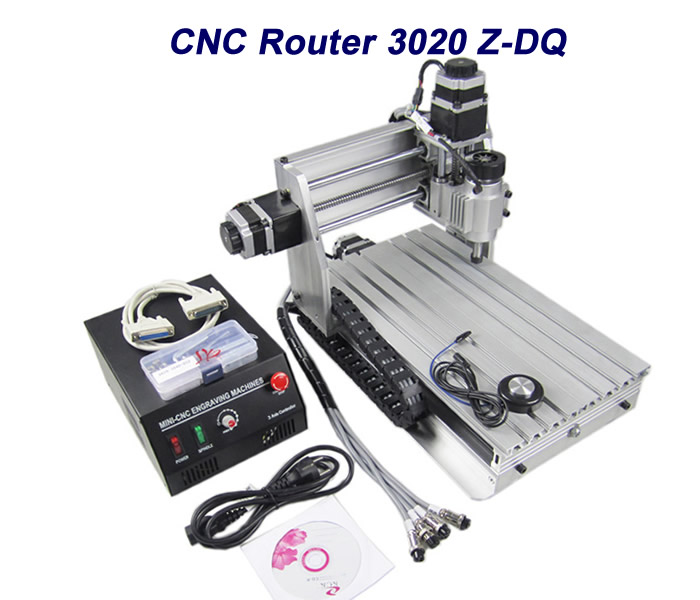free shipping! cnc lathe 3020 Z-DQ CNC router engraving machine cnc wood miller, no tax to russia! eur free tax cnc router machine 6040 5axis 2 2kw wood engraving machine for woodenworking