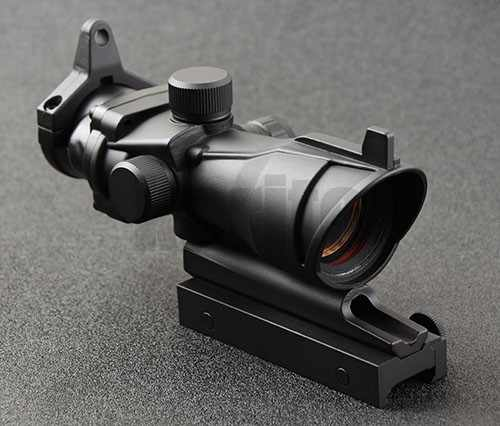 Taktis Trijicon Acog Gaya 1X32 Dot Sight Lingkup Senapan dengan 20Mm Rifle Picatinny Rail Mount M3321
