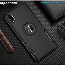 Phone Cases For Huawei Y9 2019 Case Ring Magnetism Stand Shockproof Car stand Armor back cover Enjoy 9 Plus Coque 6.3