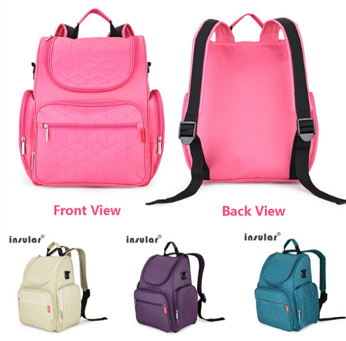 ФОТО NEW multifunction nylon baby stroller bag Mummy diaper bag fashion mother backpack diaper bags waterproof handbag
