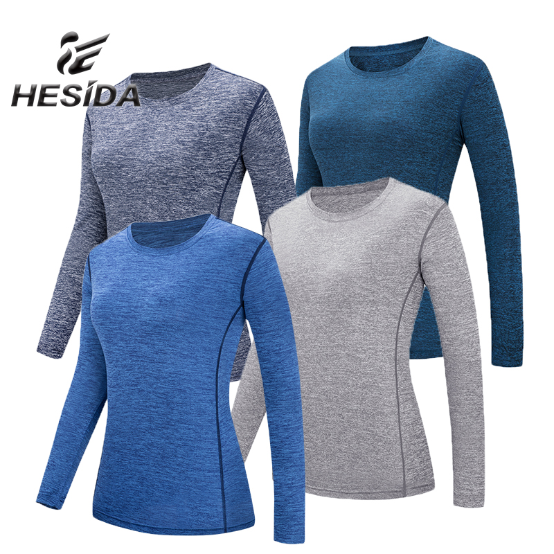 Autumn Hiking Shirt Women Long Sleeve Jersey T Shirts Quick Drying Stripe Shirt Fitness Underwear Sport Suit Tops Sweatshirt 4XL round neck stripe embellished long sleeve loose fitting thicken sweatshirt for men