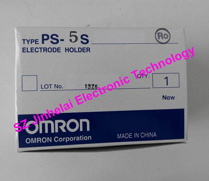 New and original OMRON ELECTRODE HOLDER PS-5S dhl eub 2pcs new original for omron electrode holder ps 4s 15 18