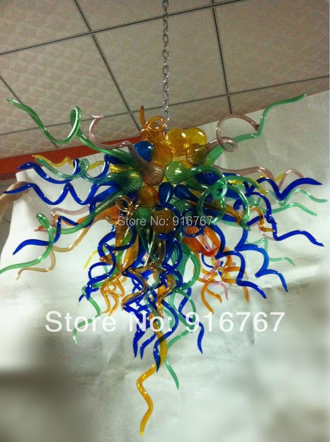 C138 Muticolor Hand Blown Glass Arts Lighting|light ups|light source artart daly - title=