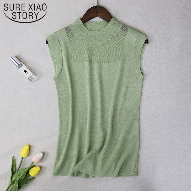 Sexy Women   Top   Fashion Women White Shirt Sexy Street Style Ladies   Tops     Tank     Tops   Knitted Solid Wild Ice Silk Knitting 2922 50