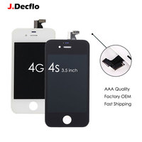 1 PC Excellent AAA Quality LCD Screen Display For IPhone 4 4S LCD Digitizer Touch Screen