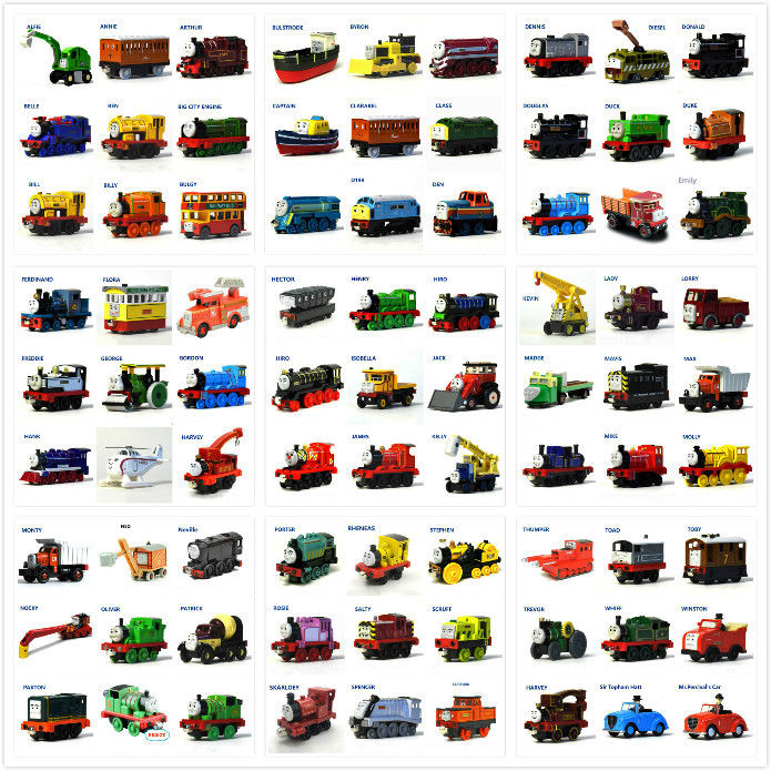 Diecast Toy Trains Magnetic Connector Magnetic Tailsor Advanture Train Kids Toys Engine Railway Gift for Children