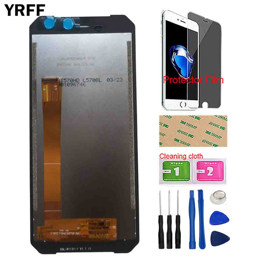 Image 3 - YRFF Mobile LCD Display For Leagoo Xrover C LCD Display Touch Screen Front Glass Sensor Digitizer Panel Tools Protector Film-in Mobile Phone LCD Screens from Cellphones & Telecommunications