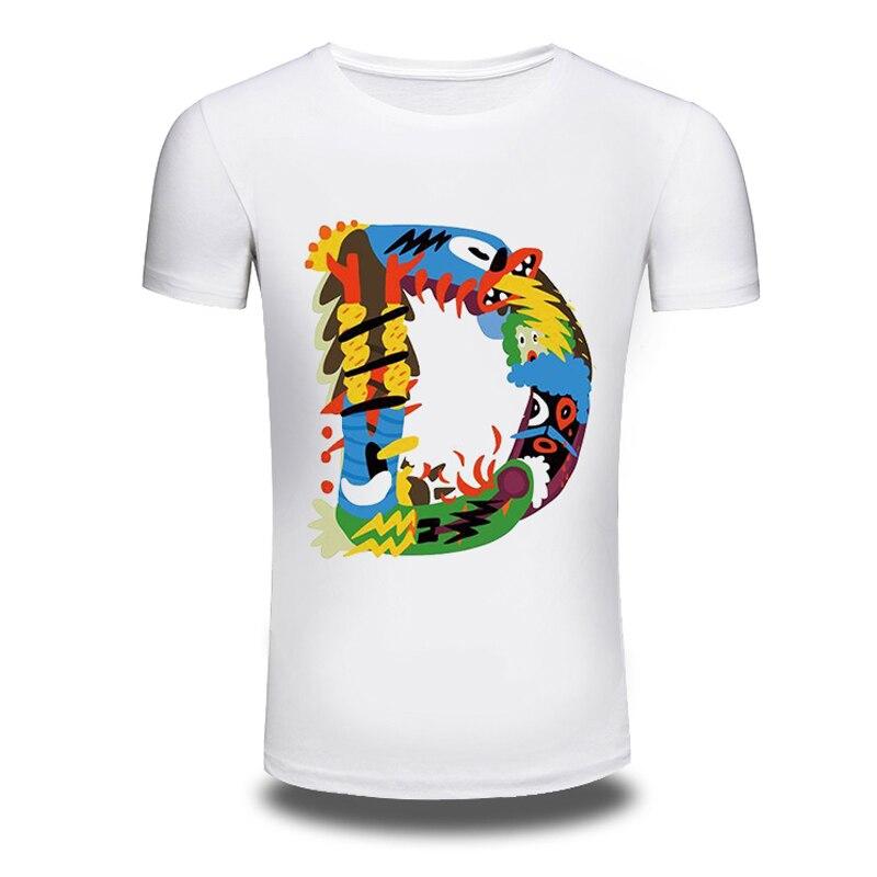 DY 194 Wholesale Hot font b Shirts b font font b Mens b font Loose Tee