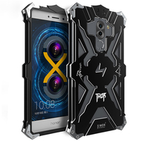 Huawei Honor 6x Case Luxury Aluminum Metal Armor Phone Frame Shell Anti Knock Cover For Huawei