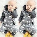Ropa de Las Muchachas niños Del Bebé Infantil Del Mameluco Mamelucos Caliente Xmax Mono de Algodón de Manga Larga Con Capucha Ropa Trajes