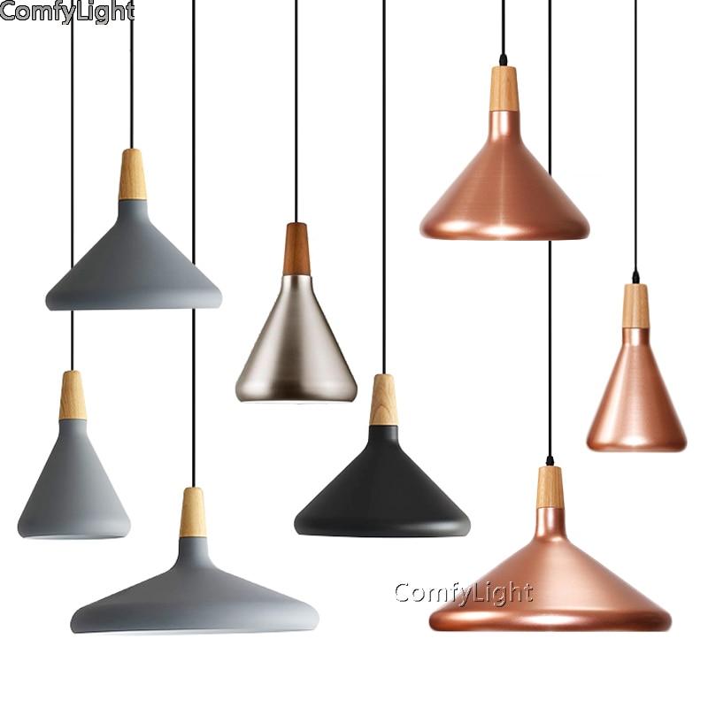 Vintage Industrial Lighting Copper/black color Lamp Holder Pendant Light American Aisle Lights Retro Lamp coffee bar lighting