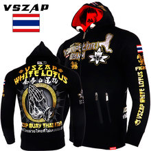 VSZAP MMA Rock Hoodies Warme winter jacke langarm mit kapuze Sweatshirt kick(China)