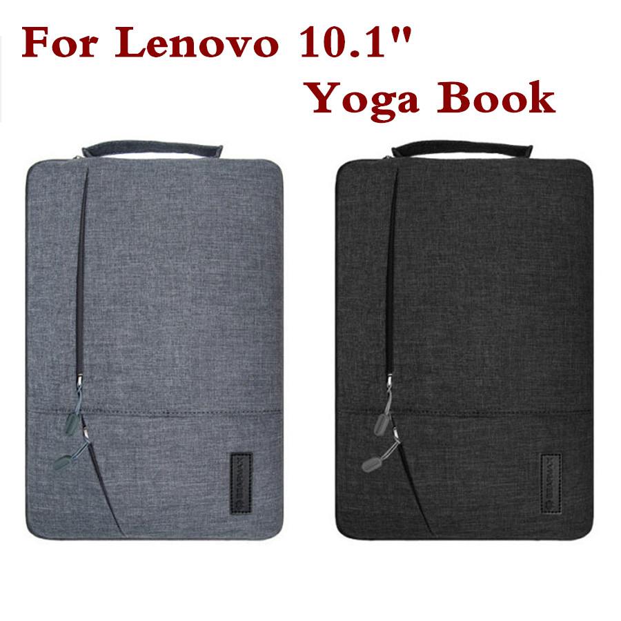 Sleeve Pouch For Lenovo Yoga Book 10.1 Yoga Book 2 10.8 Inch YB-J912F Hand Holder Tablet PC Case Waterproof Laptop Bag Gift