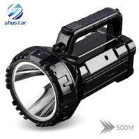 Перезаряжаемый яркий светодио дный светодиодный фонарик 20 Вт мощный прожектор встроенный 2800 мАч литиевая батарея два режима работы